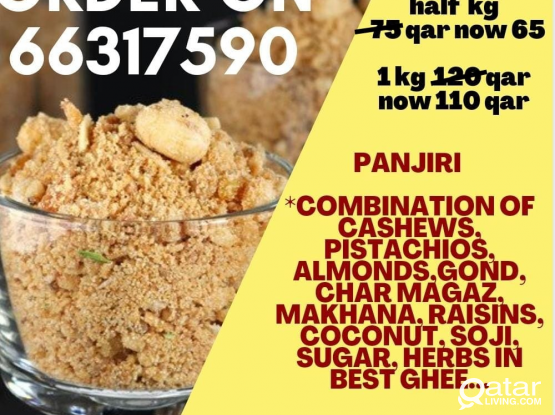 panjiri (super healthy) eid discount.. +10% off