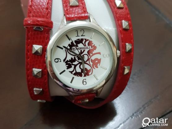 Bombshell Watch (Red)