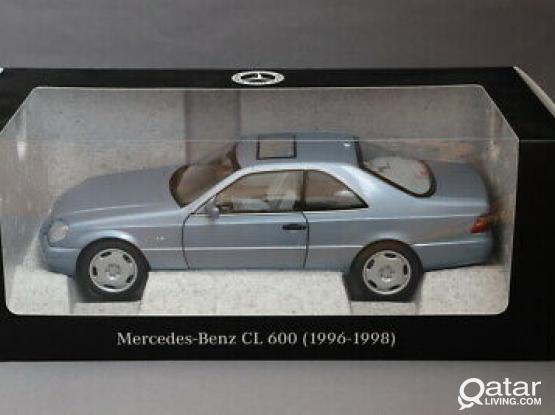 1:18 98 MB CL600 model car