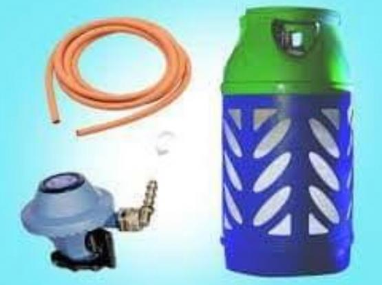 12 Kg Gas Cylinder With Regulator &Pipe