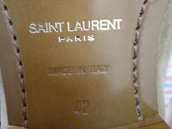 Saint Laurent size 42 new.. authentic leather