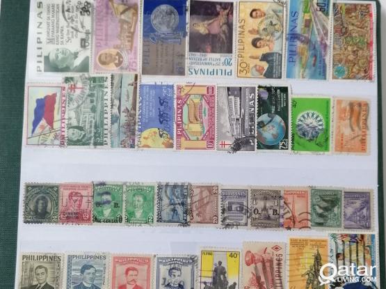 53pcs Philippines stamp