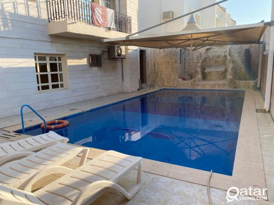Fully Furnished 2BHK With Swiming Pool in Hilal Near Toyota Signal