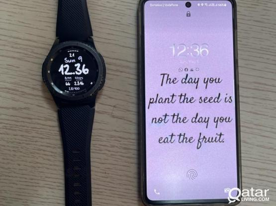 Galaxy A71 + Samsung Gear S3 Frontier