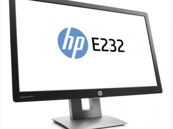 HP elitedisplay E232 Brand new (seal pack) monitor Full led display  58,4cm 23-inch monitor Stock available  Come fast and take fast Hdmi available  Call for more information  Mobile 77320442 Price 550 Doha jadeeda