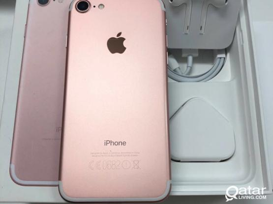 I Phone 7 128 Gb Rose Gold