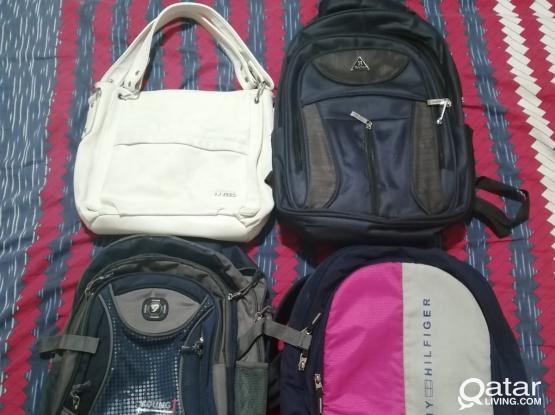 "School bags 4 no ""s"