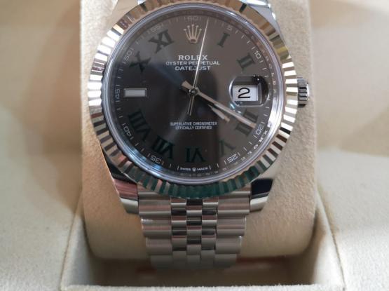 Rolex Datejust Wimbledon warranty date 2019