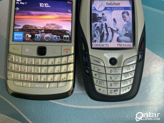 Nokia 6600 & Blackberry Bold 9780