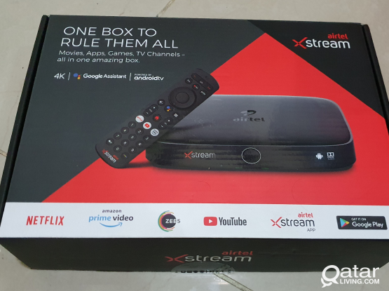 Airtel Xstream set top box