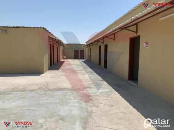 VG_0192 Semi Furnished or Fully Furnished Labor Camp at Al Khor