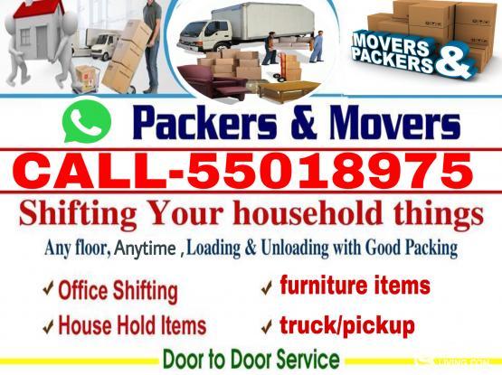 Transportation and carpenter service.call 55018975