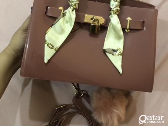 Preloved Beachkin Bag 25cm (Hermes Inspired)