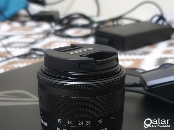 Canon EOS M 50 with Two Lens and its Adaptor(Viltrox)