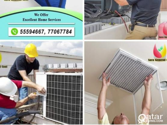 AC repairing and servicing anytime. Will provide you with the best service. Please call anytime 55594667 or 77067784