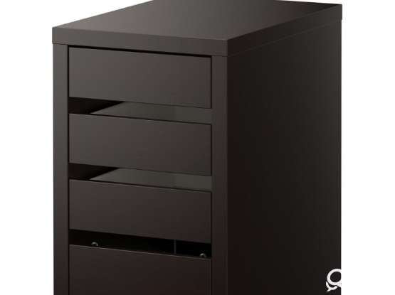 Ikea Chest of drawers black brown