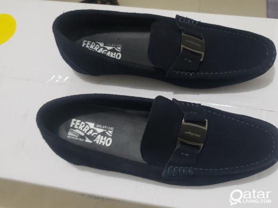 Salvatore Ferragamo Suede Shoe