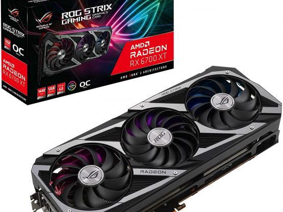 ASUS ROG Strix AMD Radeon RX 6700 XT OC Edition
