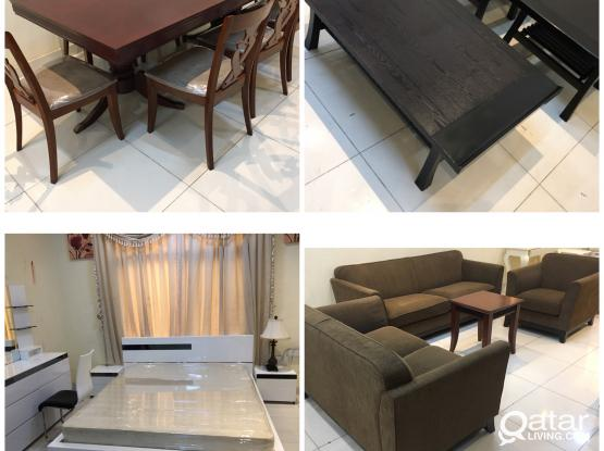 Used villa Furniture items for sale good condition