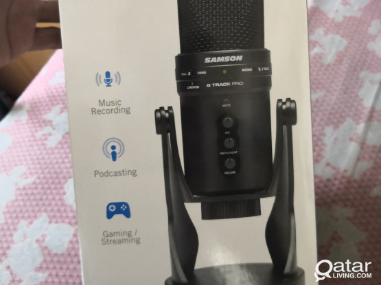 Samson G - Track Pro USB mic New