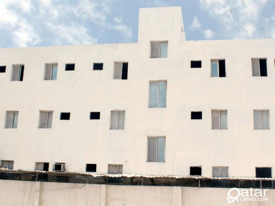 Labor camp Rent: 1,200/= QR Monthly per room, including water, Electricity & Sewage