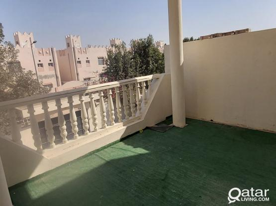 1bhk villa part apartment with balcony, old airport, near cairo supermarket