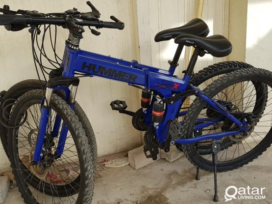 Hummer bikes for sale =2nos