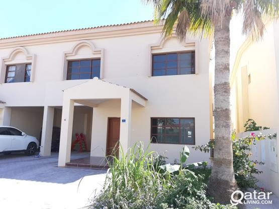 No Commission! Semi/furnished nice villa 3+1maid room in Duhail