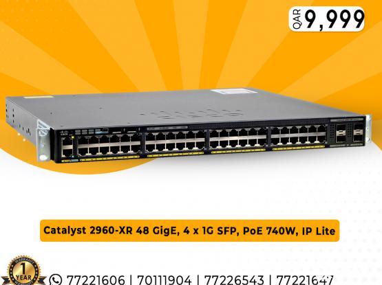 Cisco Switch (WS-C2960XR-48FPS-I)