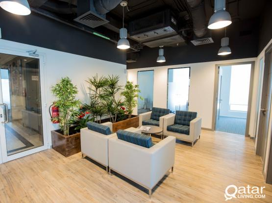 No Commission!!! Rent a Serviced Office in Bank Street
