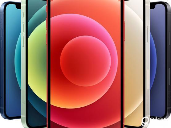 Apple iPhone 12 mini 128GB RED Full warranty Lulu (Sealed Box NEW)