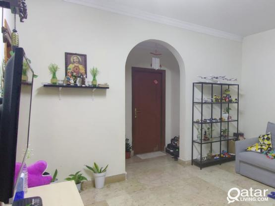Spacious 1 BHK ,Villa Ground Floor with the main Kitchen for rent