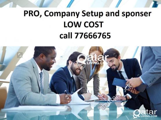 Complete company formation with Qatari sponsor