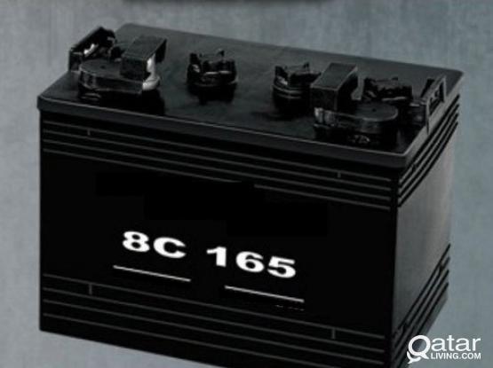Golf Cart Battery 8C165