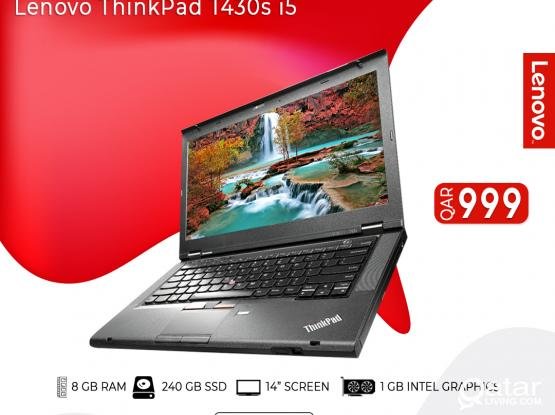 Lenovo ThinkPad T430s i5 (SCHOOL/BUSINESS USAGE)