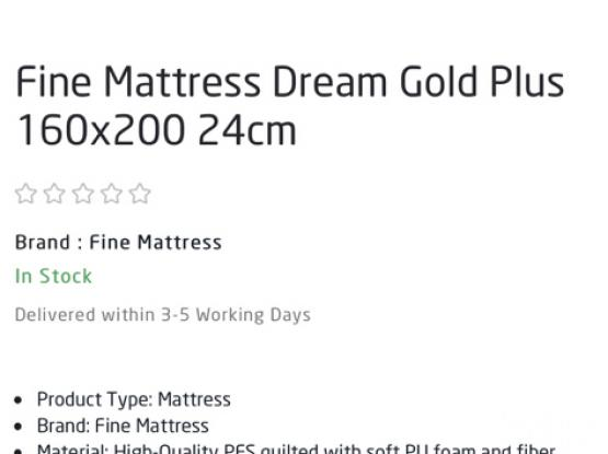 Ikea Bed With Fine Mattres