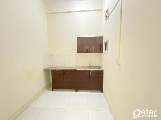 Spacious 1 BHK Villa Apartment Available in Ain Khalid, Behind Aswaq Ramez