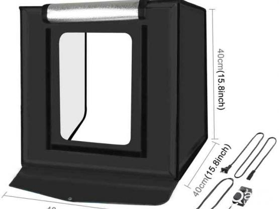 Puluz PU5040 Photo Studio Light Box – 40cm Photo Shooting Tent Box Kit