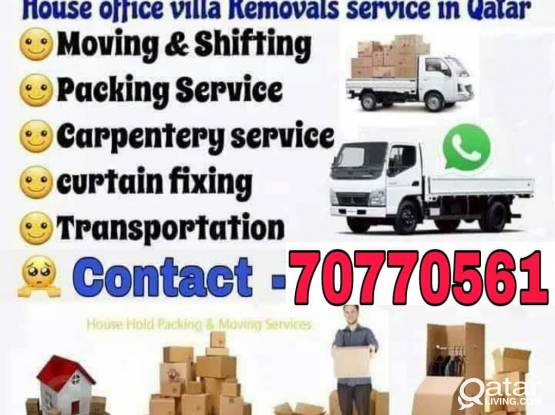 Qatar Movers // Moving House Shifting Carpenter