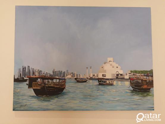 Painting Doha
