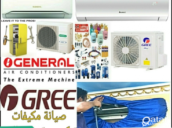 Air condition maintenance service. Please call 66699671