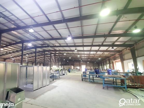 6000 SQM STEEL HVAC ALUMINIUM FACTORY FOR RENT IN NEW INDUSTRIAL AREA