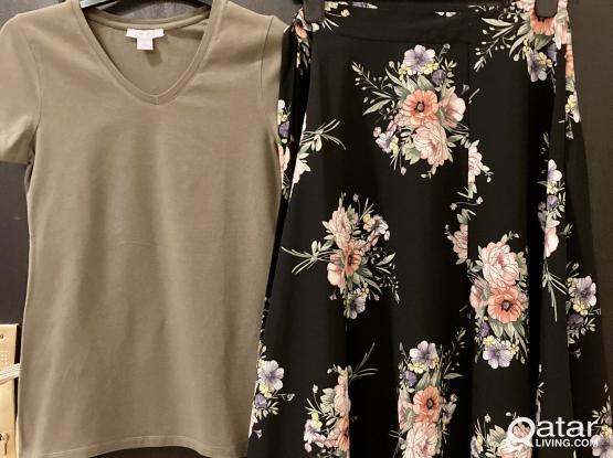 NEW! Ladies Clothing (Top Shop Skirt & Top) EUR 34/36/S