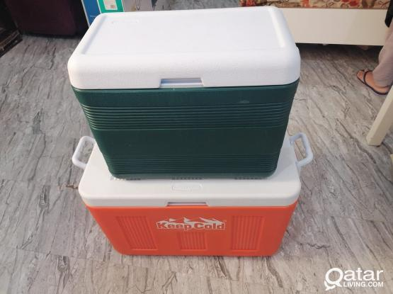 Storage Cooler 2 Pcs Both Mint Conditions