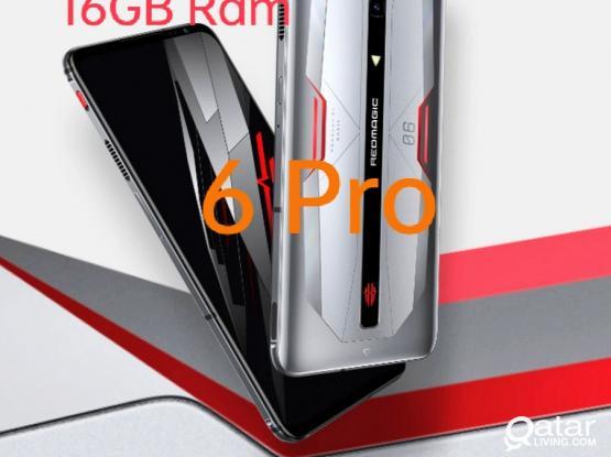 Gaming Phone Redmagic 6 Pro 16GB Ram New