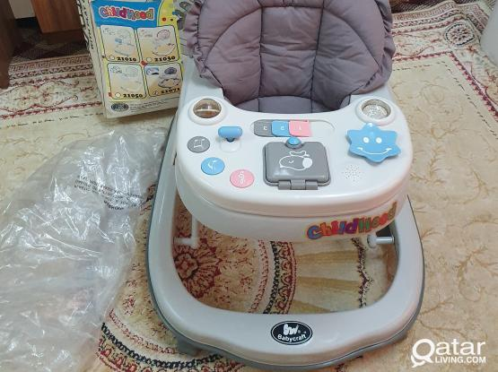 Baby Walker    ;;   baby craft  ;; Used only one week . same new condition .