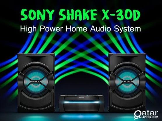 Sony Shake X30D High Power Home Audio System | Bluetooth Speaker DJ, Karaoke and Hifi Music System