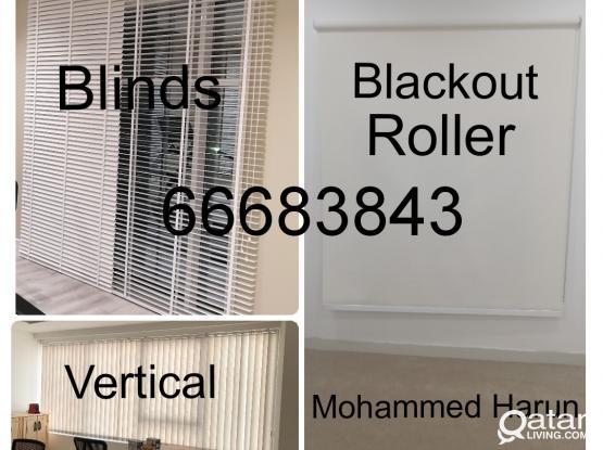 Office Curtains Blackout Roller Sunscreen Vertical Blinds Kitchen Zebra Roller  New Making & Installation .Call Me 66683843