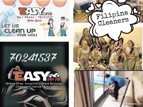 Filipina cleaners available (Cleaning -Ironing)