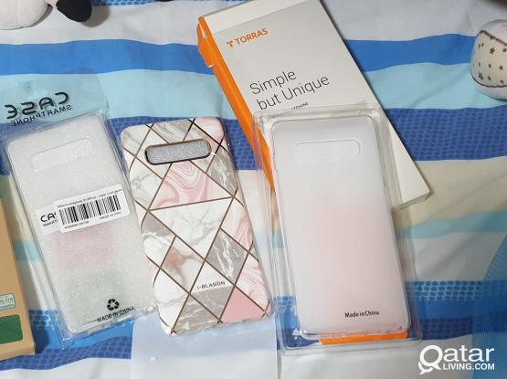 all 3 pcs casing for samsung galaxy s10 plus